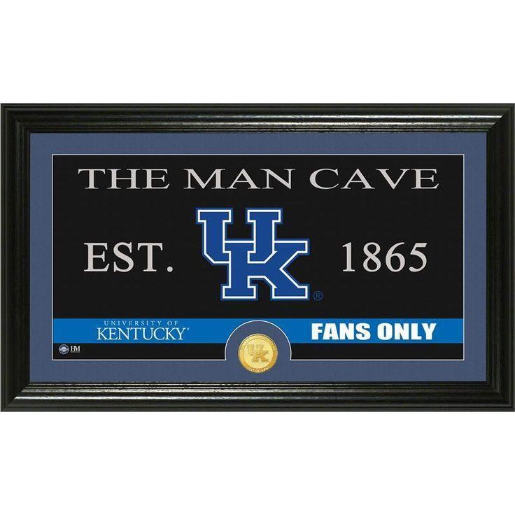 Man Cave On Facebook : University of kentucky quot man cave panoramic bronze coin