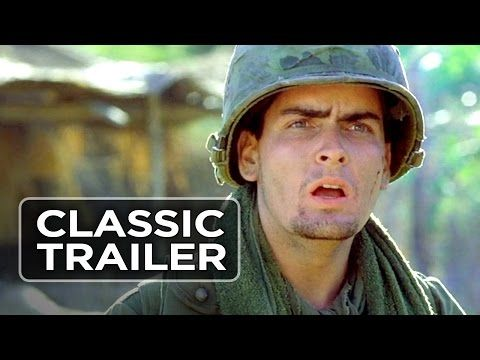 Platoon Official Trailer #1 - Charlie Sheen, Keith David Movie (1986) HD - YouTube