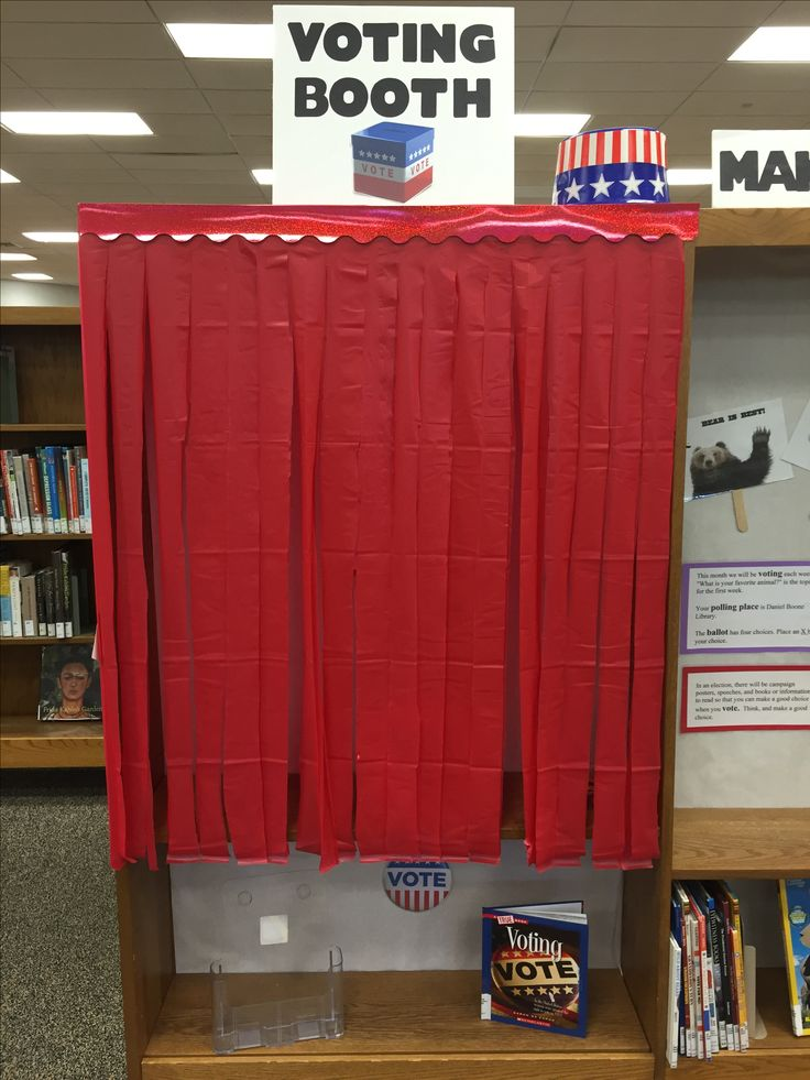Voting Booth Interactive Display