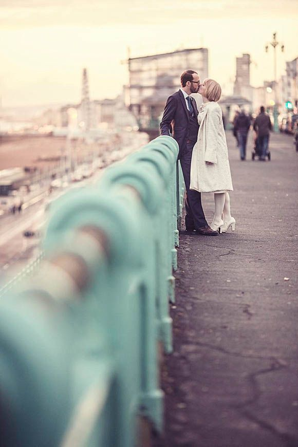 Wedding Photos - like the film Quadrophenia, Brighton is the perfect location for your Sixties inspired Mod theme! Xx