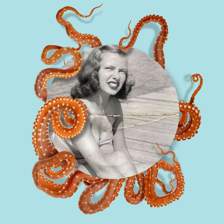Octopussy  |  Collage by Studio Lowbrow