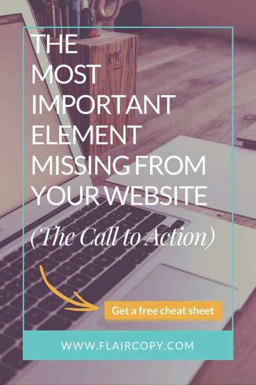 The Most Important Element Missing From Your Website (The Call to Action)