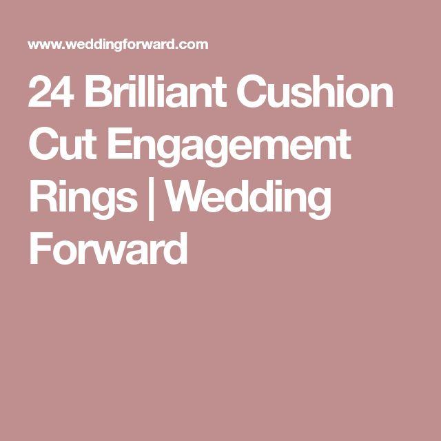 24 Brilliant Cushion Cut Engagement Rings | Wedding Forward