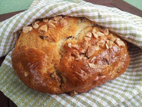 Tvarohovy mazanec - Easter baking