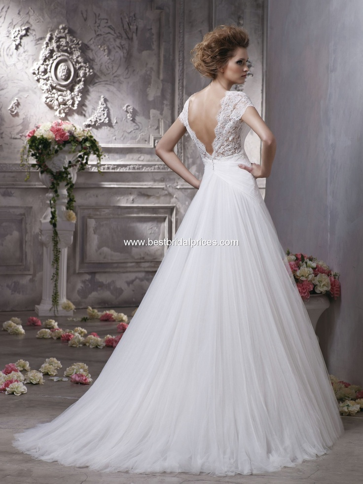 Anjolique Wedding Dresses - Style C156 [C156] : Wedding Dresses, all tulle, we folded in back