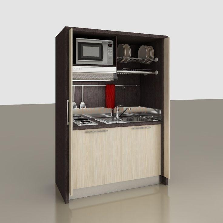 16 migliori immagini cucine per piccoli spazi su pinterest piccoli spazi piccole cucine e. Black Bedroom Furniture Sets. Home Design Ideas