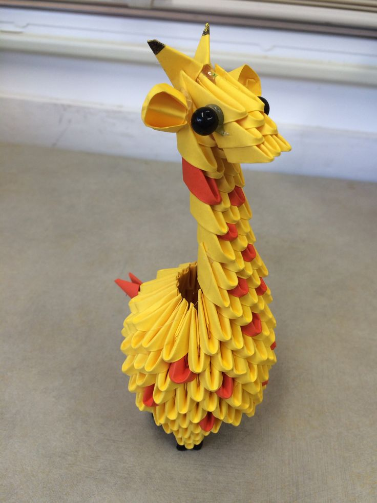 Giraffe | 3D origami | Pinterest | More more and Giraffes - photo#29