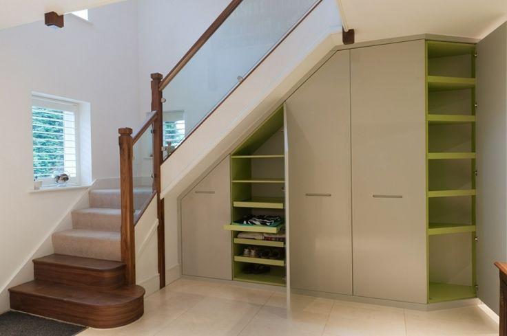 meuble chaussure sous escalier pratique g ant confortable