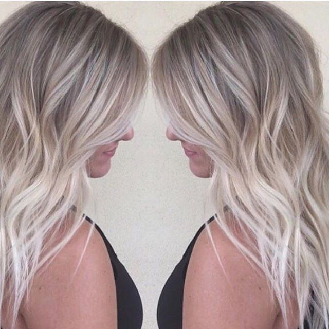 Platinum blonde hair with silver highlights the best blonde hair 40 glamorous ash blonde and silver ombre hairstyles medium black hair with silver highlights pmusecretfo Image collections