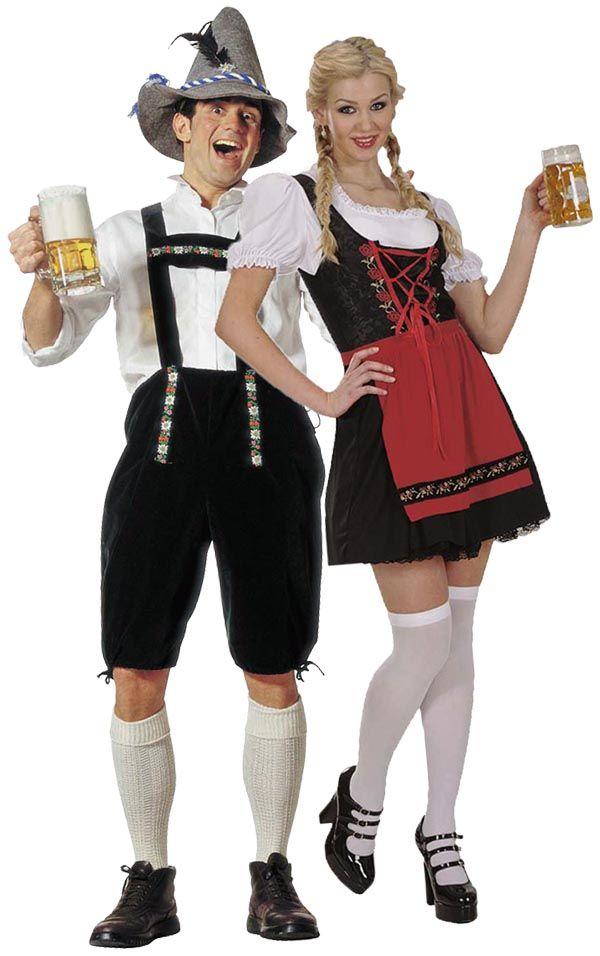 Soyez le couple Bavarois (allemand) qui fera fureur lors de la prochaine Oktoberfest de Munich avec ce déguisement de couple folklorique allemand !