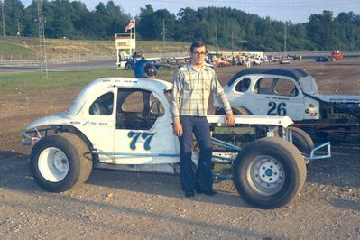 Canadian Racing Archives Project -- Delaware Speedway - Bill Atkinson at Delaware Speedway
