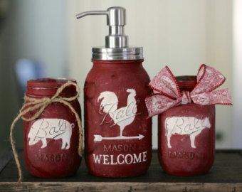 Choose One Animal from The Farmhouse Trio, Cow, Rooster, Pig, Dark Brown, Off…