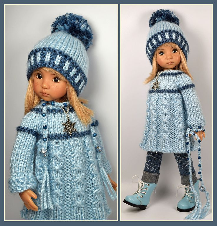 Blue Winter Outfit from maggie_kate_create