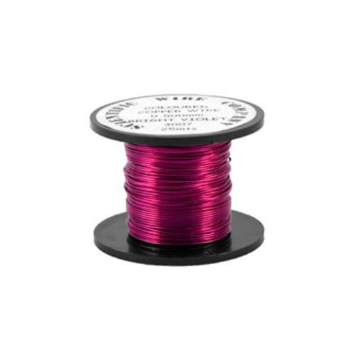 Copper Coloured Wire Vivid Red Copper Wire by Makewithlovecrafts, £3.25
