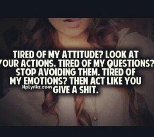 Attitude reflects leadership captain ;)