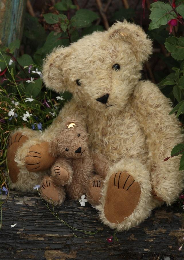Traditional Handmade Teddy Bear Hand Made Teddy Bears Teddy Bear Bear Handmade