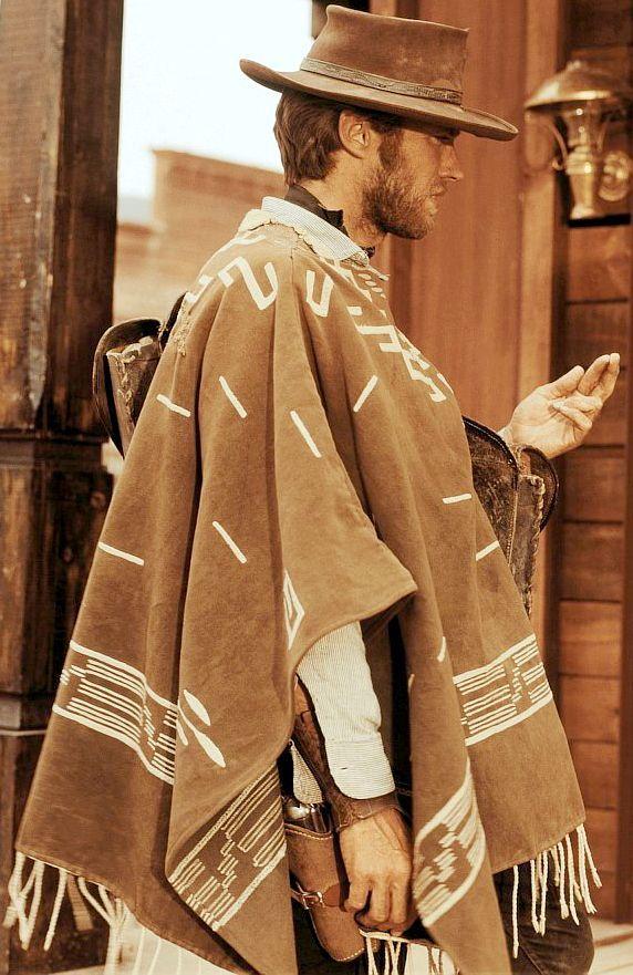 Young Clint Eastwood  (Sergio Leone's 'Per un Pugno di Dollari', 1964 - For a Few Dollars More, 1965) - Tabernas, Almeria - Spain