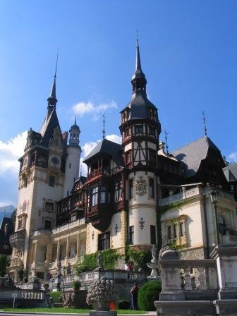 Peles Castle. This place was absolutely amazing!!