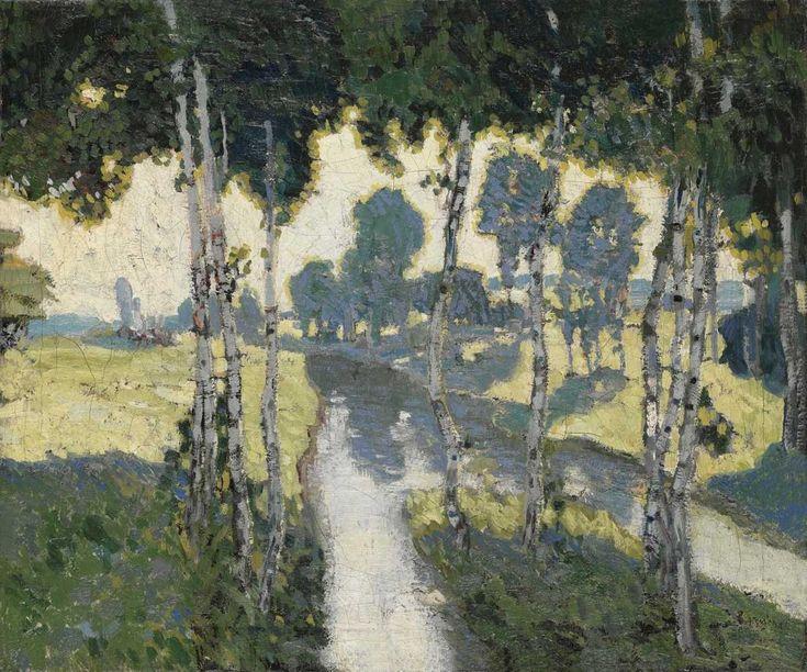 Josef Váchal, Ranní slunce, [asi 1905]
