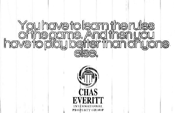 The rules of the Game...  Chas Everitt