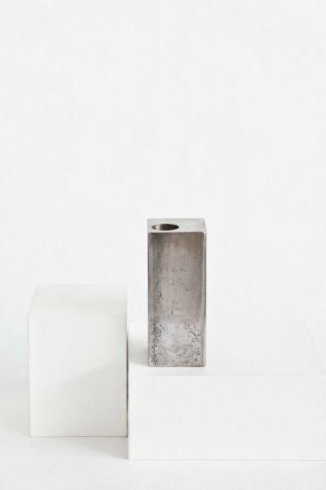 Raw steel iron candle holder http://annaleena.se/shop/