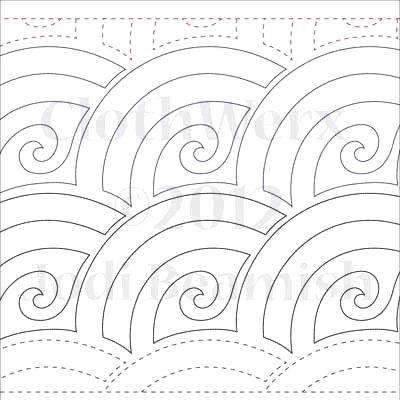 Baptist Swirl Paper 6 Quot Quilts Complete Continuous
