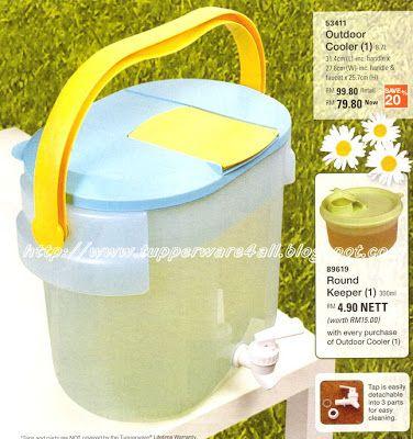 PicNic Tupperware Katalog : OutDoor Cooler ~ Tupperware Brands Malaysia