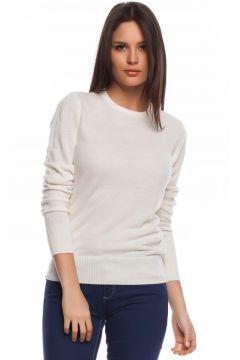 Beyaz Kazak Modelleri Modasto.com da İndirimli Fiyatlara