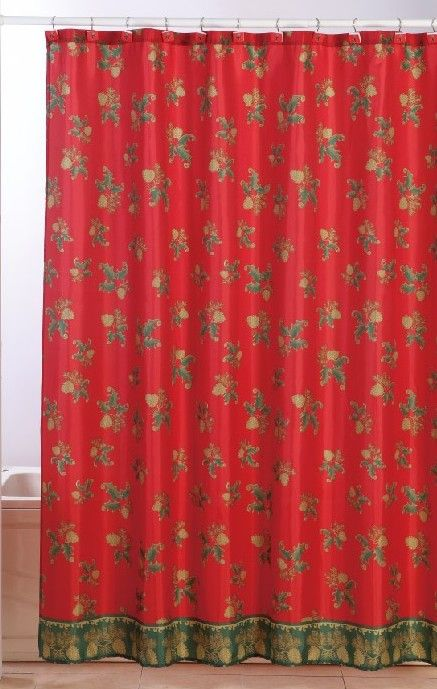 red and black shower curtain set. The 25  best Shower curtain sets ideas on Pinterest Black christmas shower set lizardmedia co