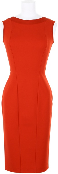 Hervè l Lèroux Dress in A Technic Jersey Blend Of Viscose - Lyst