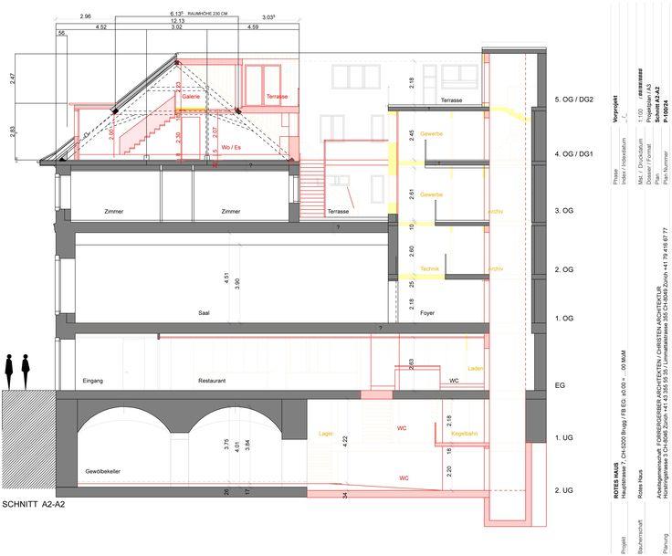 Umbau und Erweiterung Rotes Haus Brugg Forrer Gerber Architekten