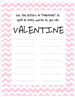 mrs a colwell 39 s class valentine spelling freebie valentine 39 s day valentines valentines. Black Bedroom Furniture Sets. Home Design Ideas