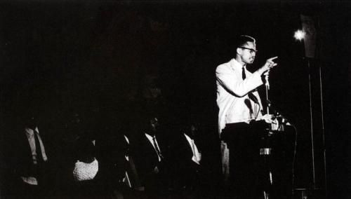 On June 28, 1964 Malcolm X announced the founding of the Organization of Afro-American Unity at Harlem's Audubon Ballroom. The OAAU was modeled on the Organisation of African Unity, a coalition of 53 African countries which had impressed Malcolm X during a visit to Africa earlier that year. The purpose of the OAAU was to fight for the human rights of African Americans and promote cooperation among Africans and people of African descent in the Americas. #TodayInBlackHistory