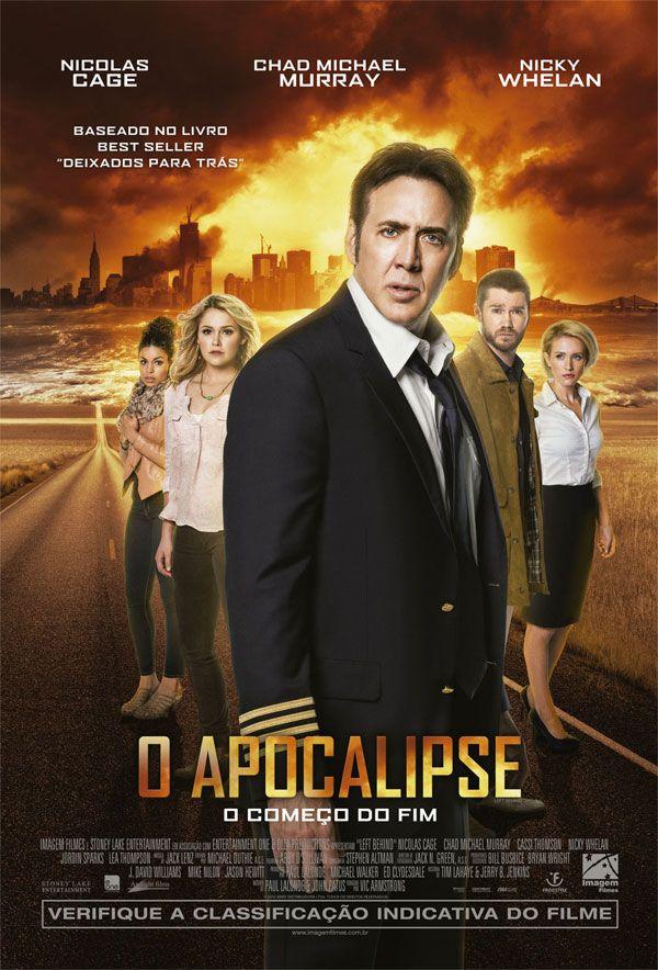 """Pôster nacional do filme """"O Apocalipse"""" com Nicolas Cage http://cinemabh.com/imagens/poster-nacional-filme-o-apocalipse-com-nicolas-cage"""