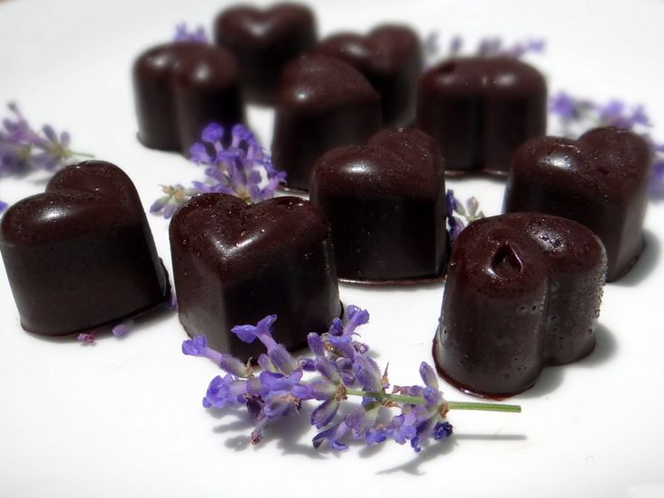 homemade flavour infused chocolates