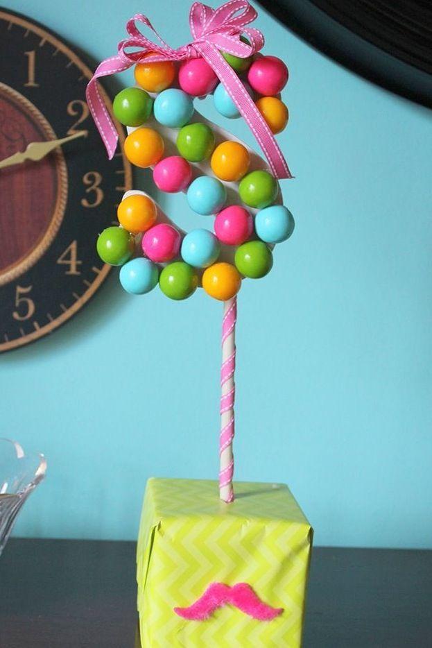 centro de mesa para fiesta infantil cumple el propsito adorna es colorido