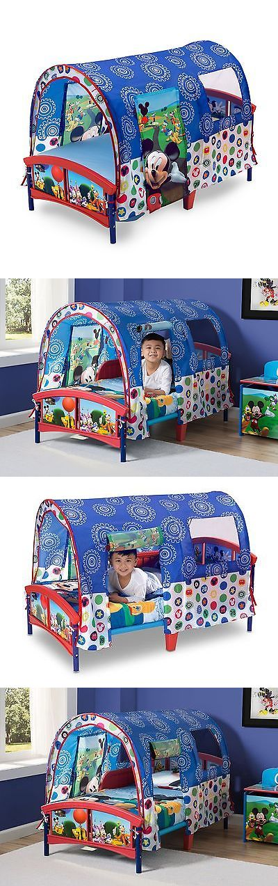 Bedroom Furniture 66742: Delta Children Toddler Tent Bed Disney Mickey Mouse -> BUY IT NOW ONLY: $76.63 on eBay!