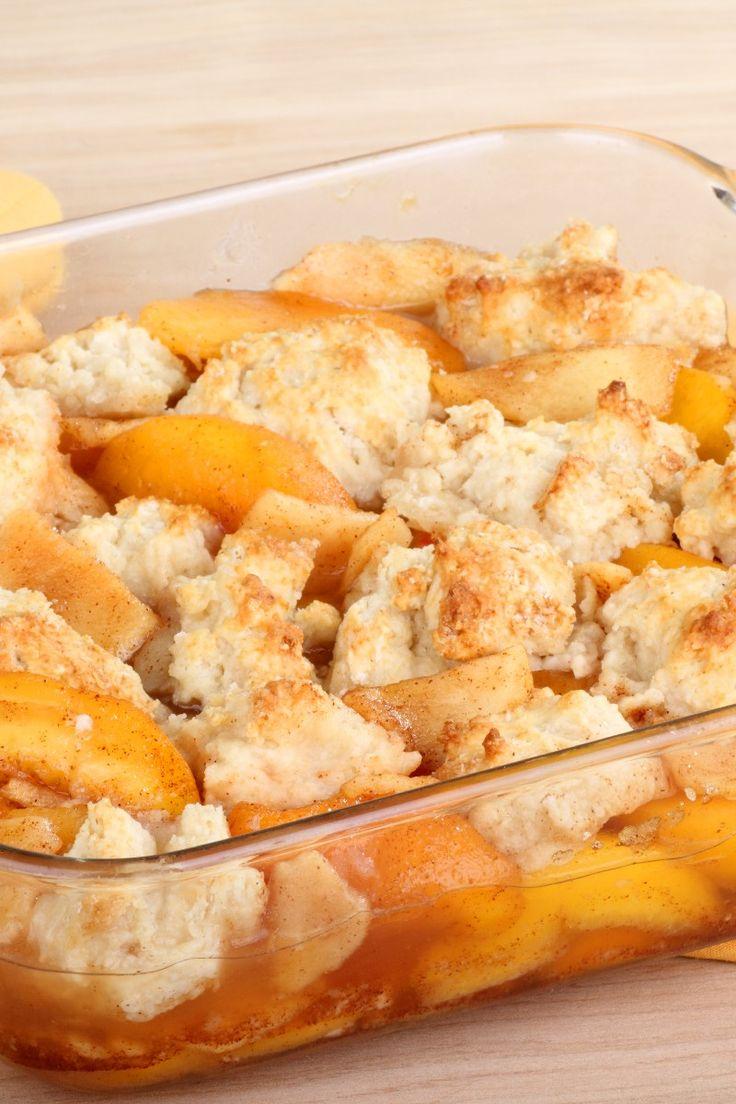 Southern Peach Cobbler Dessert Recipe