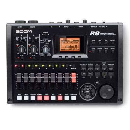 Zoom R8 Digital Multitrack Recorder