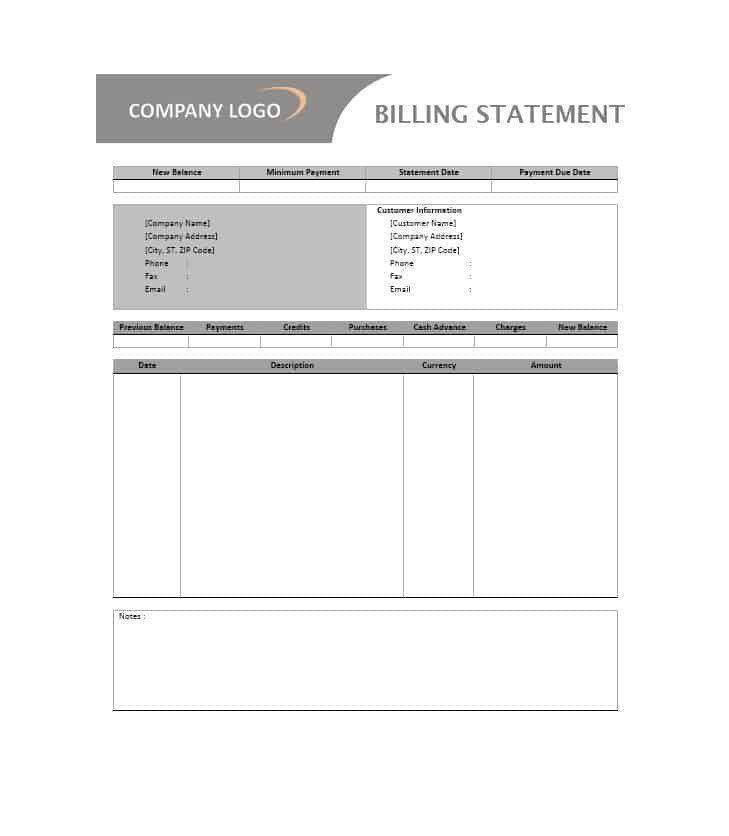 Itemized Billing Statement Template Beautiful 40 Billing Statement Templates Medical Legal Itemized Statement Template Invoice Template Word Templates