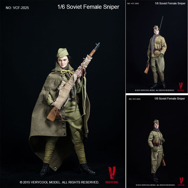 VERYCOOL VCF2025 1/6 WWII Soviet Female Sniper Suits #VERYCOOL