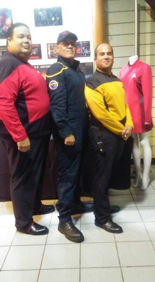 Hector Martinez September 4 ·  The of Man Starfleet Caribbean