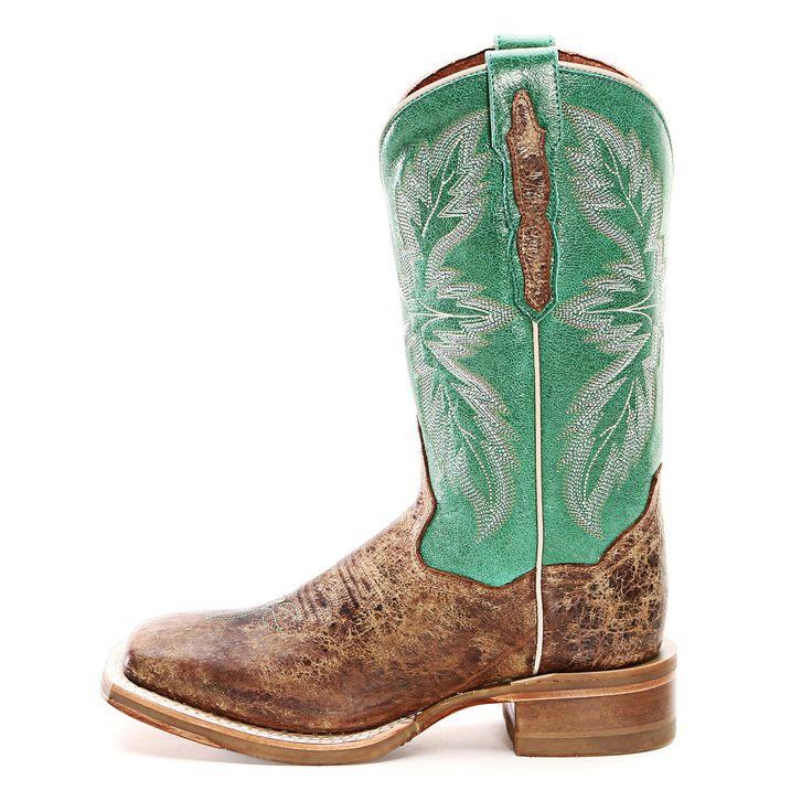 Dan Post Tan Cowgirl Boots DP3812 TAN/GRN - PFI Western Store #CowboyCupidBeMine