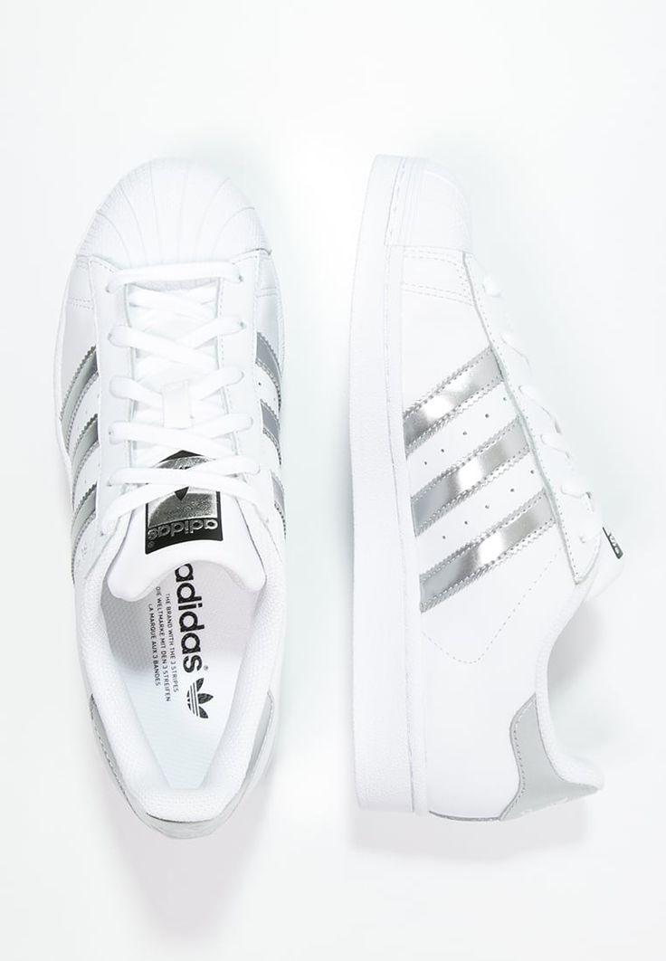 SUPERSTAR - Tenis�wki i Trampki - white/silver metallic/core black