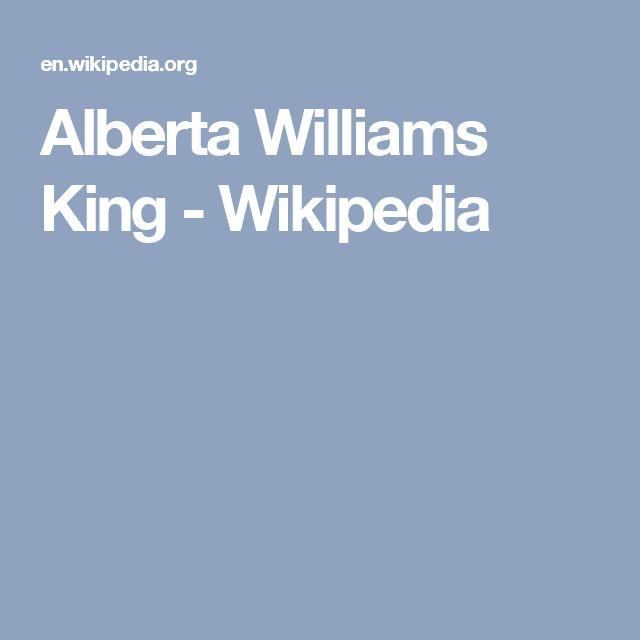 Alberta Williams King - Wikipedia