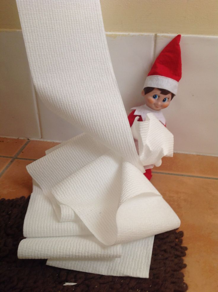 Day 17, Playing with the Toilet paper.