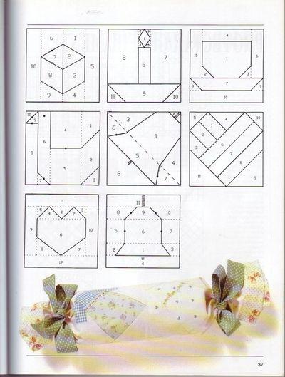 Blog de polaarteemtecido :Pola  -  Arte em Tecido, Grafico 4 - outras dicas para quem gosta de patchwork