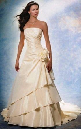 vestidos de novia   Vestidos de novia de manta un modelo de lo mas lindo para verte ...
