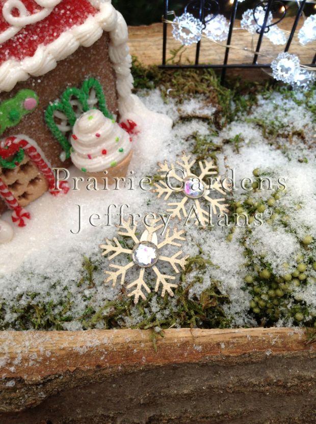 Miniature Christmas Fairy Gardening Studio M Fairy Garden