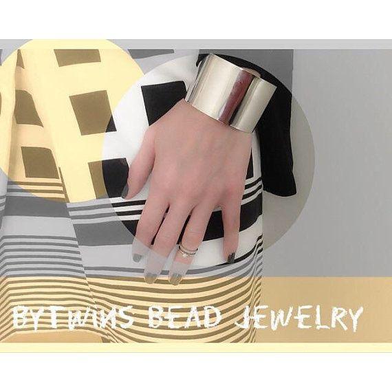 Cuff Fashion Bracelet by BYTWINS on Etsy